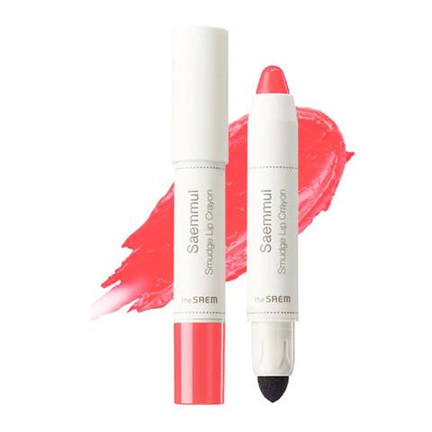 Карандаш-помада для губ The Saem Saemmul Smudge Lip Crayon Cr01 с аппликатором 3,5 гр