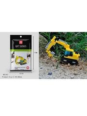 Конструктор Wisehawk Экскаватор 110 деталей NO. B13 excavating machinery Gift Series