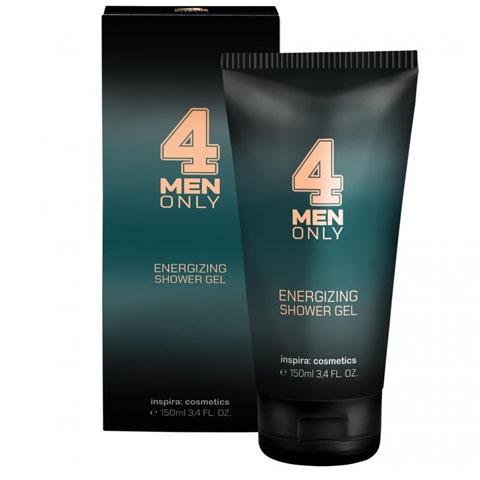 INSPIRA 4 Men Only: Тонизирующий очищающий гель для волос и тела (Energizing Hair & Body Wash)