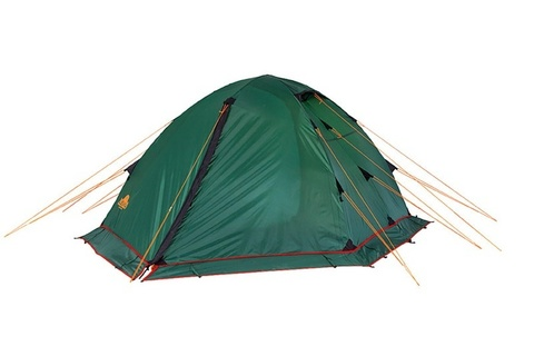 Картинка палатка туристическая Alexika RONDO 3 Plus green, 390x215x115  - 2