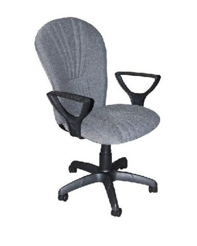 Кресло ВАРНА газлифт ткань серая