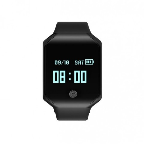 Водонепроницаемый смарт-браслет Z66 IP67 шагомер Waterproof Smart Bracelet (Черный).