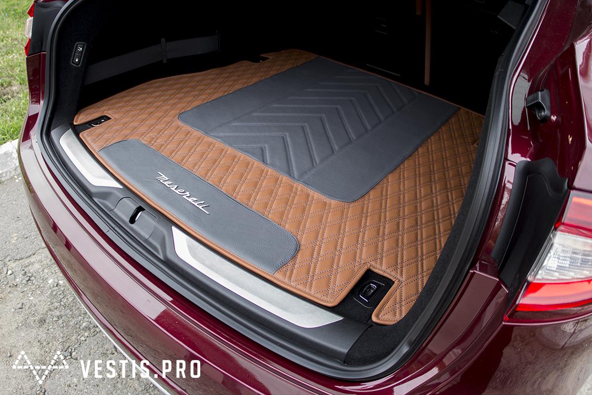 Коврики из эко-кожи Vestis для Maserati