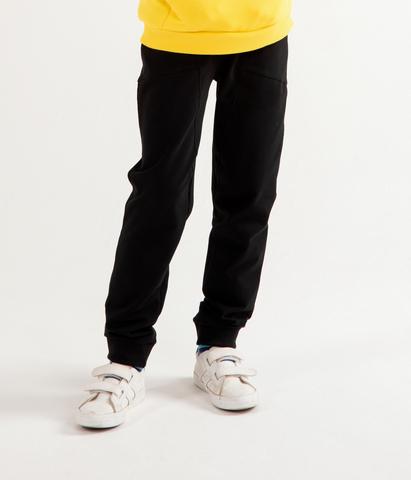 Джоггеры Anlikids с боковыми карманами  цвет черный