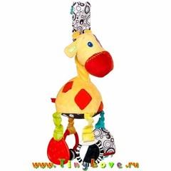 Bright Starts Развивающая мягкая игрушка Жираф (8976)