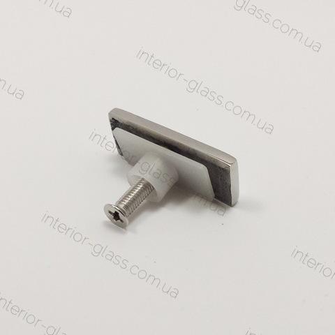 Заглушка трубы на стекло ST-304 SSS матовая нерж. сталь
