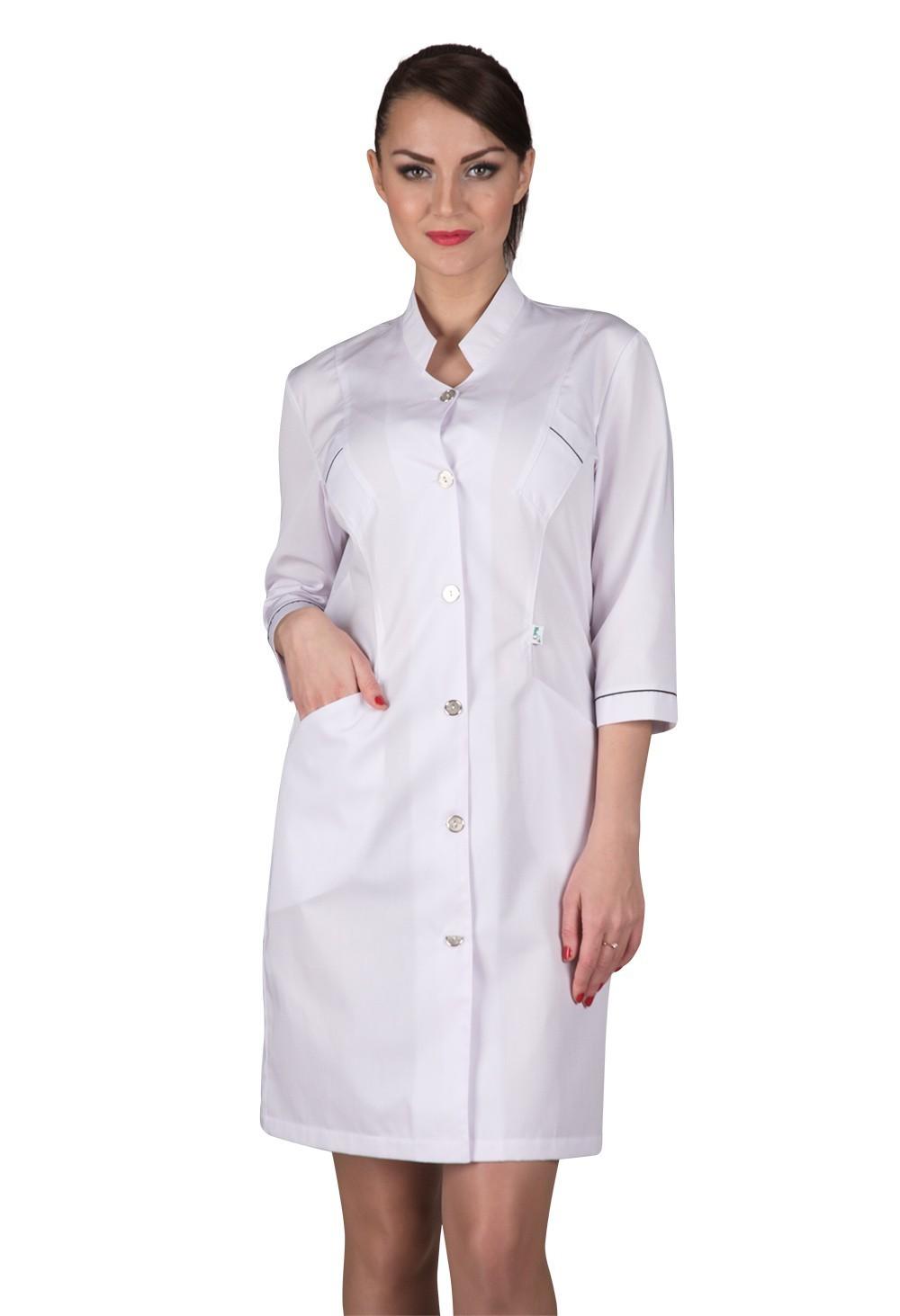 Медицинский женский халат Х-226 сатори