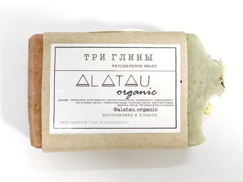 Мыло Три глины (Alatau Organic)