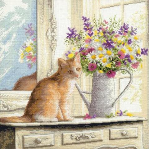 Котенок на окне