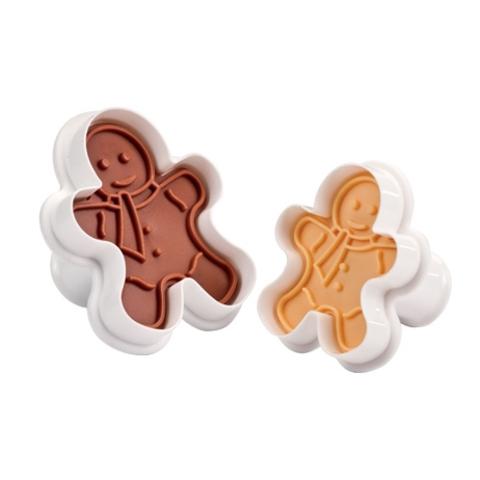 Формочки с печатью для печенья DELICIA, 2 шт., фигурки
