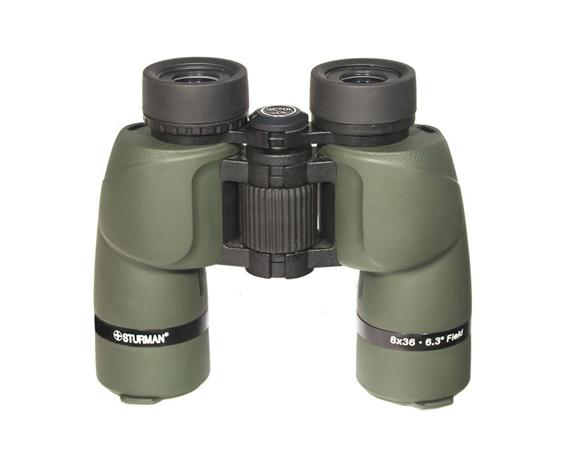 Бинокль Sturman 8x36 зелёный - фото 3