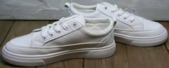 Молодежные женские кроссовки кеды для девушек El Passo 820 All White.
