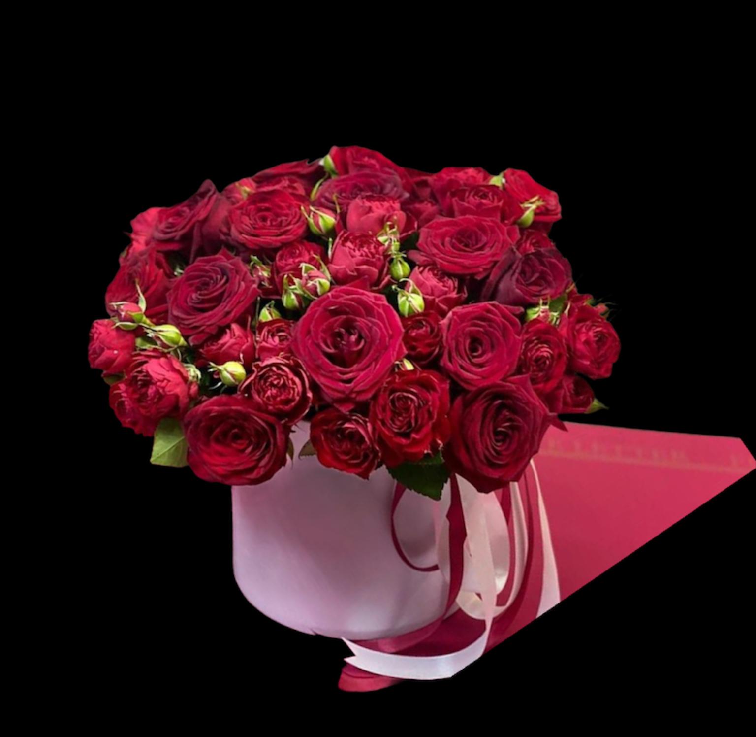 Роза и роза кустовая (ШК-4)