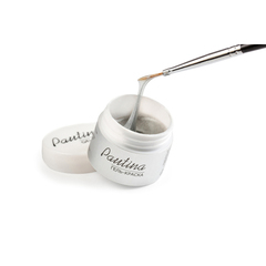 ruNail, Гель-краска Pautina, серебро, 5 г