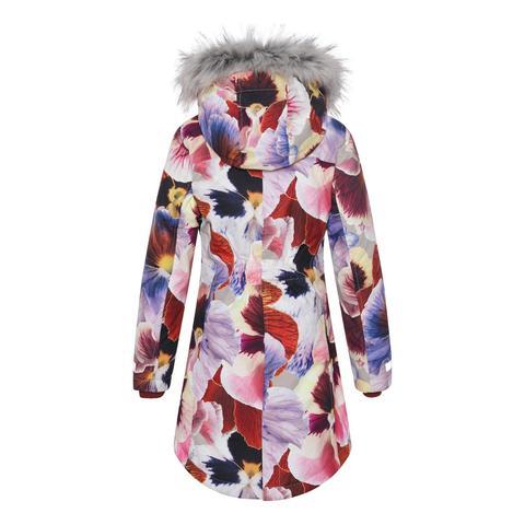 Molo (Моло) Peace Giant Floral зимняя куртка - парка для девочки