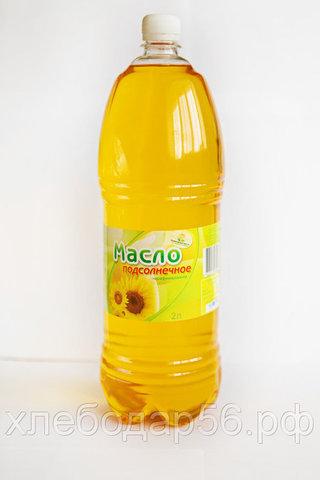 Асекеевское масло нерафинированное подсолнечное 2л