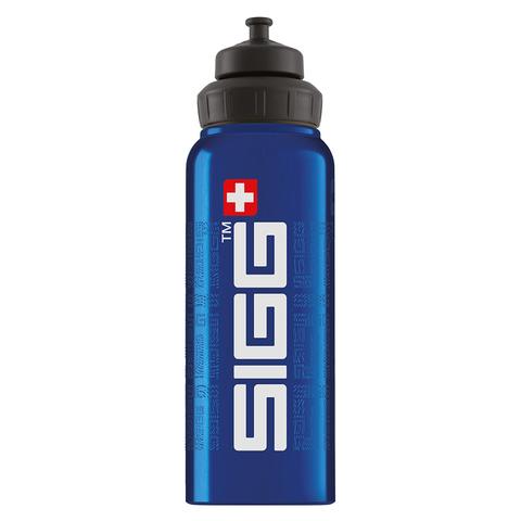 Бутылка Sigg WMB Gnature (1 литр), голубая