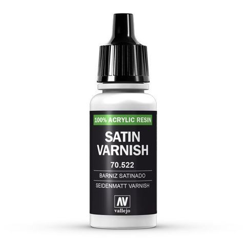 Permanent Satin Varnish 17 ml.