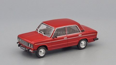 VAZ-2106 Lada 1976-2006 dark red 1:43 DeAgostini Auto Legends USSR #266