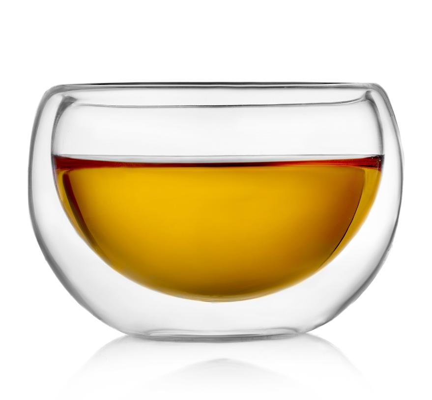"""Чашки Лилия Стеклянная чашка с двойными стенками """"Лилия"""", 180 мл 1-001-180.PNG"""