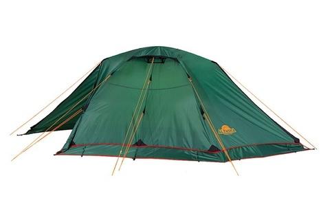 Картинка палатка туристическая Alexika RONDO 3 Plus green, 390x215x115  - 4