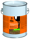 Масло LOBASOL Deck & Teak Oil color (12 л) специальное масло-пропитка для внешних работ (Германия)