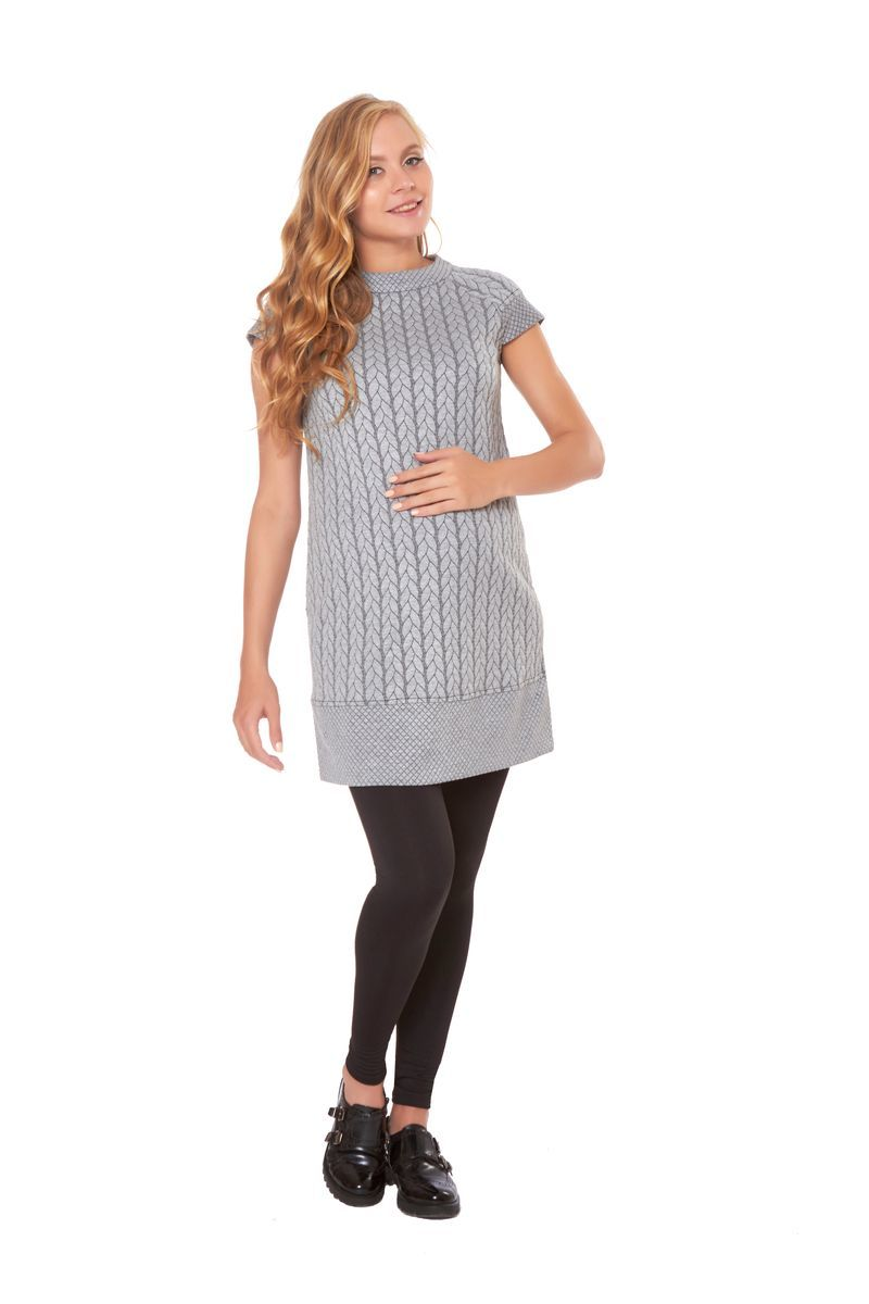 Фото платье для беременных Magica bellezza от магазина СкороМама, серый, размеры.