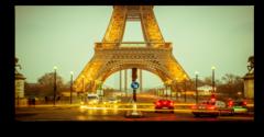 """Постер """"Центр Парижа"""""""