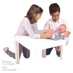 DeCuevas Стульчик для кормления куклы переносной в наборе с аксессуарами серии