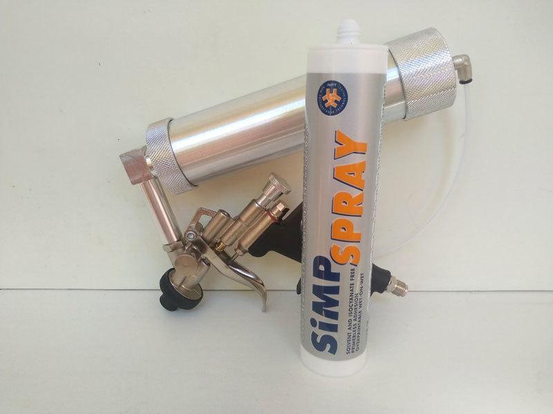Пистолет под распыляемый герметик SIMP SPRAY