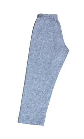 Леггинсы женские трикотажные модель 800 (укороченные) Серый меланж
