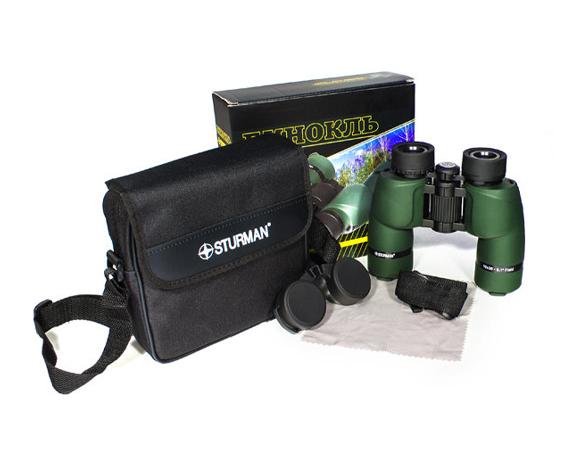 Бинокль Sturman 8x36 зелёный - фото 5