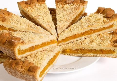 Пирог классический с курагой