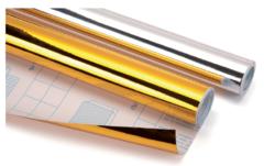 Фольга самоклеящаяся в рулоне Sadipal 0,5*3м серебро 16 рулонов в упаковке