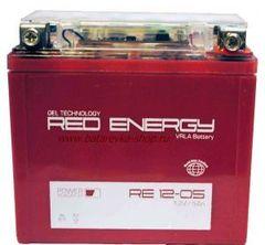 Аккумулятор 12V 5Ah (RE1205) RED ENERGY с индикатором заряда