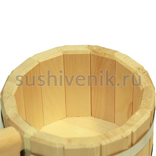 Ковш 1,5 л для бани (кедр)