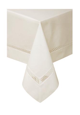 Скатерть с тефлоновым покрытием  HOLIDAY кремовая BOVI Португалия