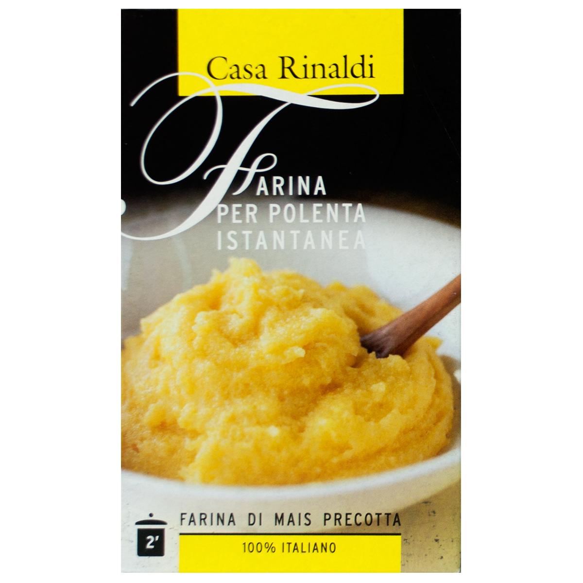 Мука кукурузная Casa Rinaldi быстрого приготовления 375 гр
