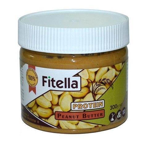 Паста Fitella арахис. Протеин Рисовый 300г
