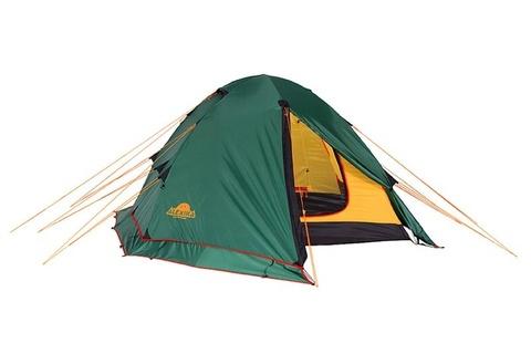 Картинка палатка туристическая Alexika RONDO 3 Plus green, 390x215x115  - 6