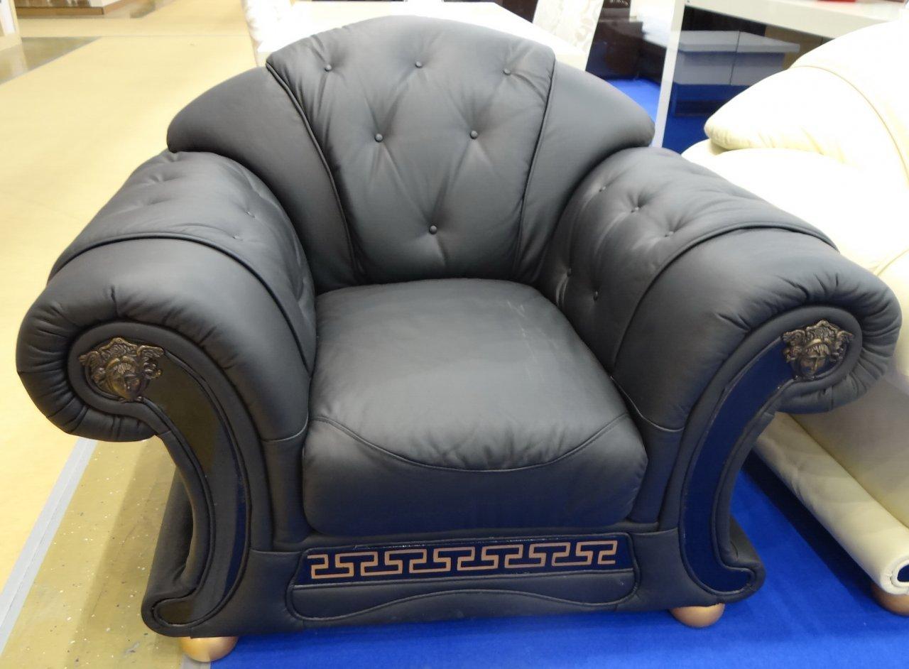 Кресло ESF Versace черное