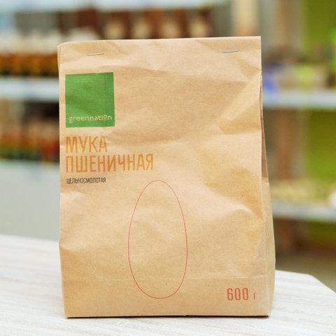 Greennation мука пшеничная ц/з Greennation 600 г