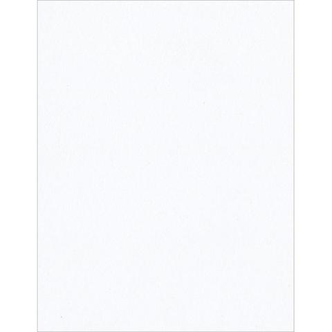 Кардсток А4  Bazzill Classic Cardstock - Smooth White -штучно