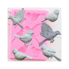 0933 Молд силиконовый. Птицы (набор)