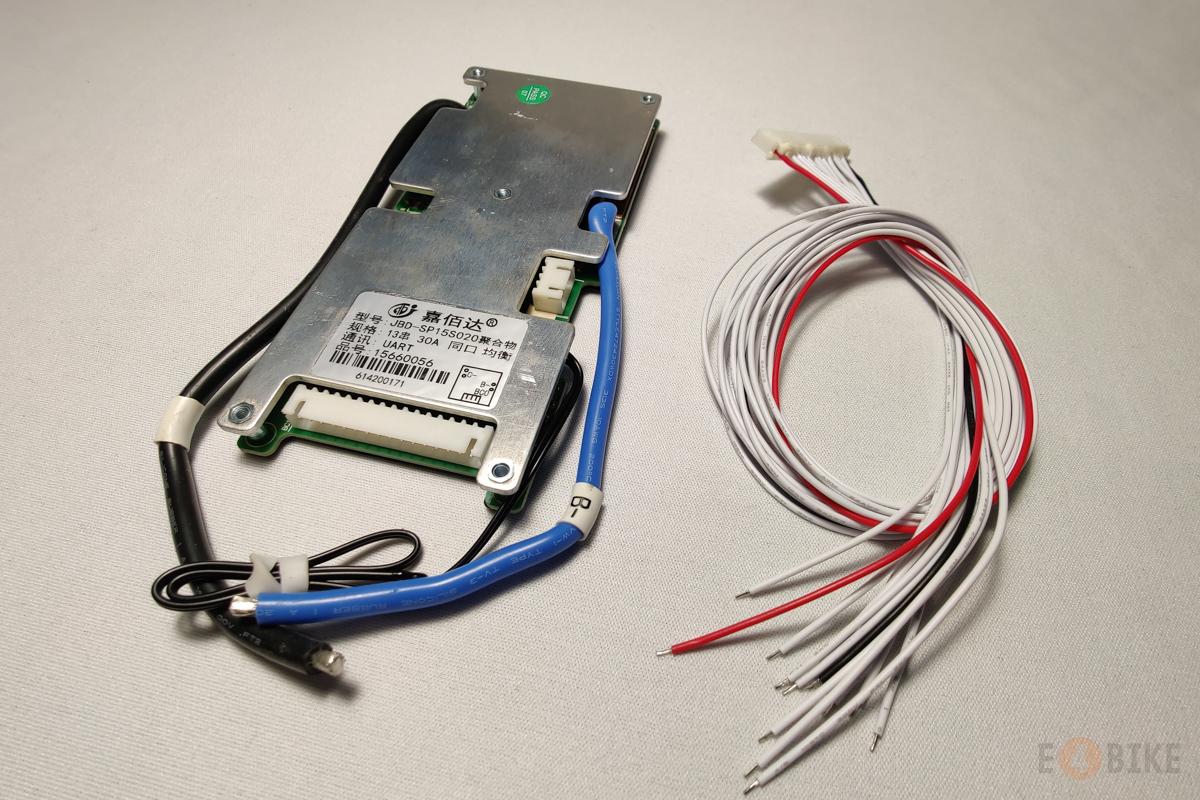 Симметричная SMART BMS Li-Ion 13s 40 A