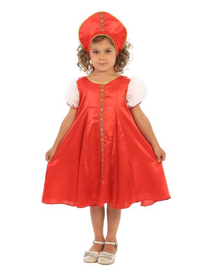 Карнавальный костюм Царевна-2 детский