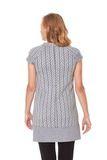 Платье для беременных 07461 серый