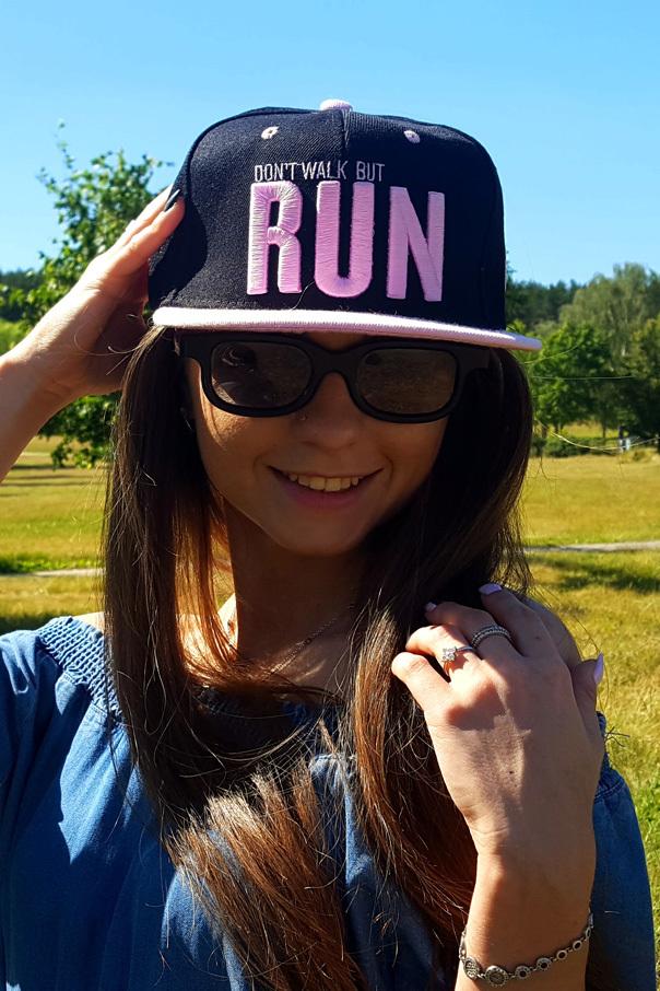 "Кепки Кепка ""Run"" Черная RUN-black2.jpg"