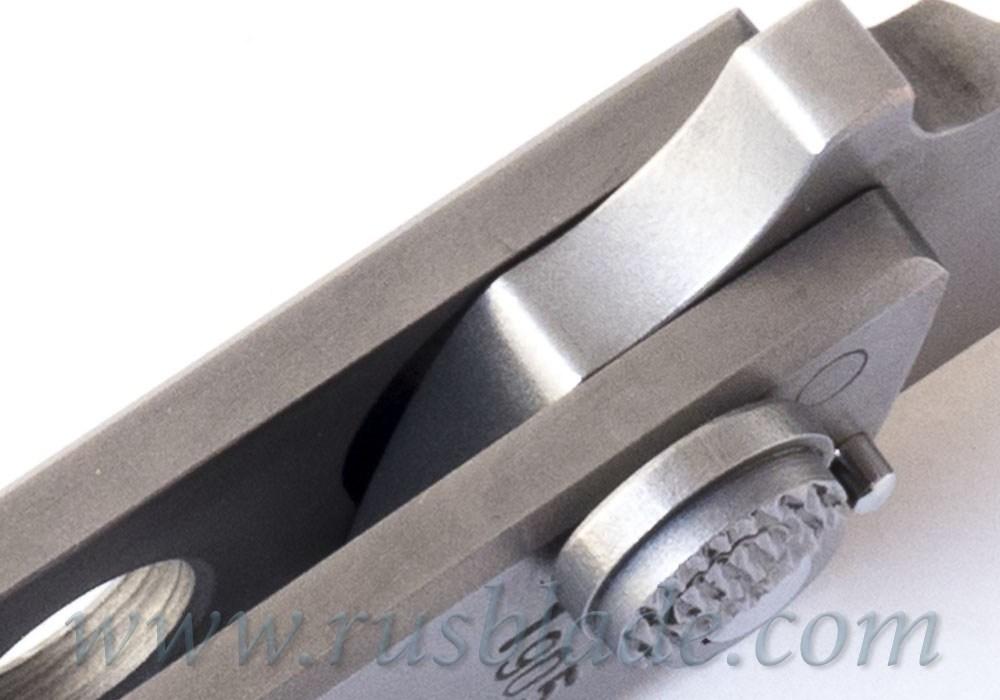 Custom Urakov Al Capone Steel Folding knife - фотография