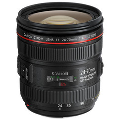 Объектив Canon EF 24-70mm f/4L IS USM Black для Canon
